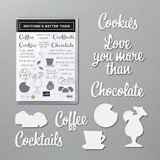 Nothing's Better Than Bundle by Stampin' Up! includes stamp set + dies Nothing's  Better Than Bundle 154061 Price: $46… in 2020   Coffee cards, Stampin up, Stampin  up cards